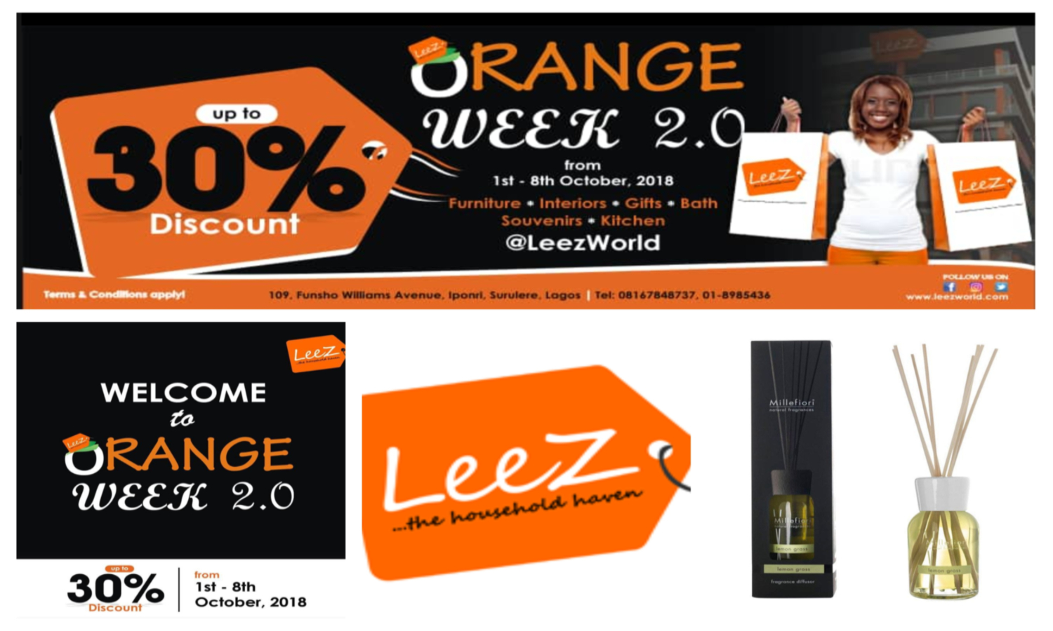 leez world orange week 2.0