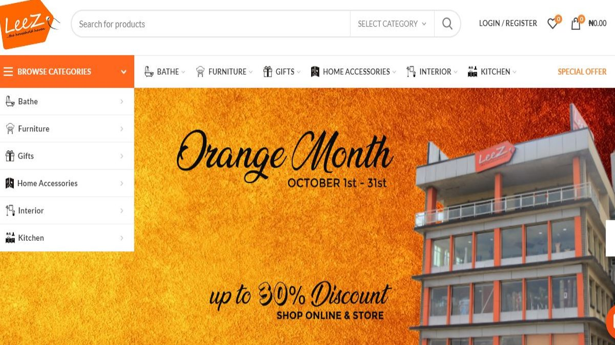 Photo of Leez World Orange Month back with 30% discount To Give Back To Customers