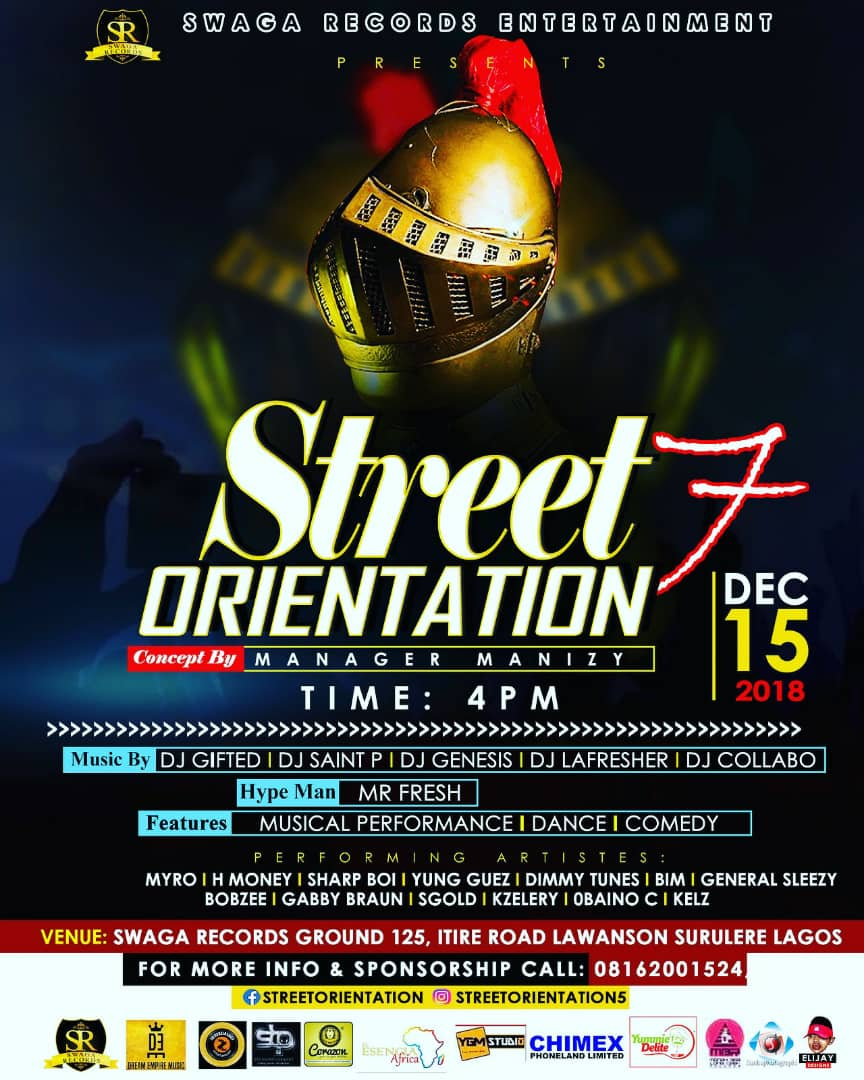 Street Orientation by Swagga Records