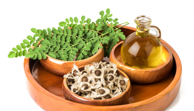 Moringa oil, leave, and seed