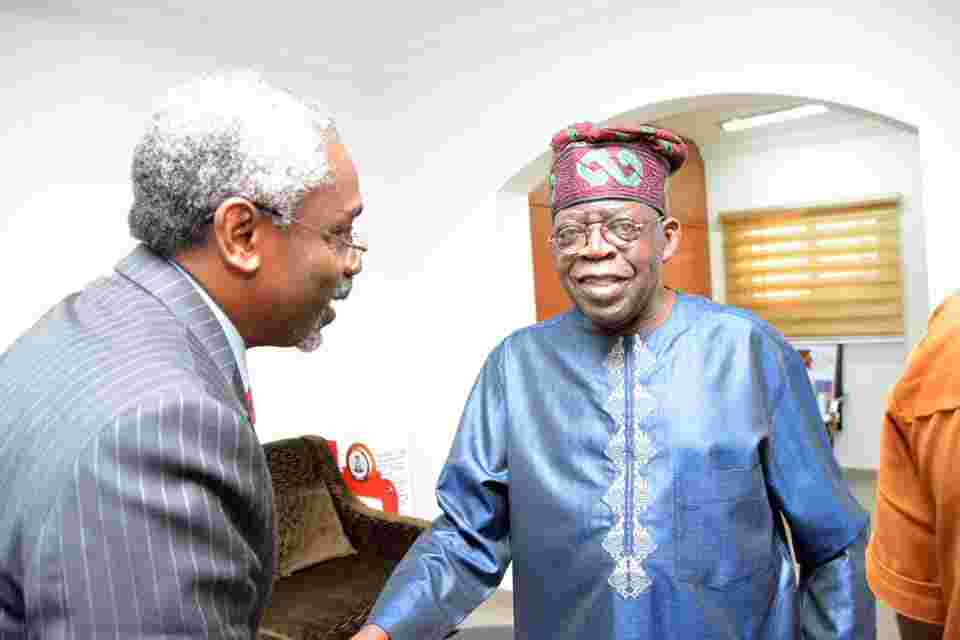 Photo of Femi Gbajabiamila Pays A visit to Asiwaju Bola Ahmed Tinubu (pictures)