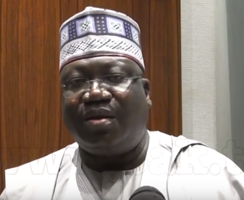 Photo of Ahmed Lawan, king in the 9th assembly