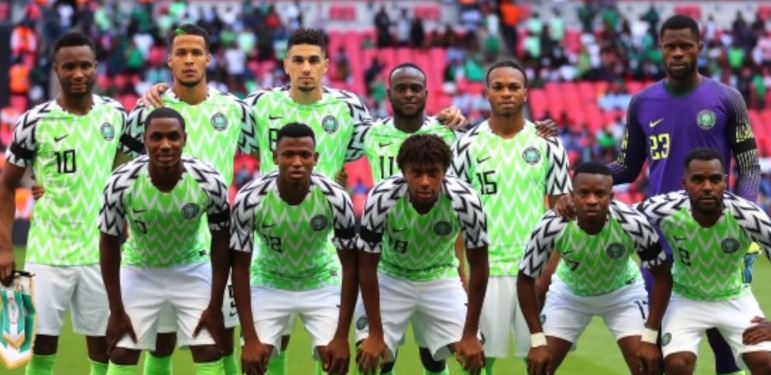 Nigerian Super eagles afcon 2019
